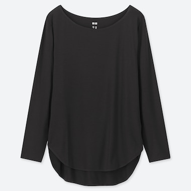 WOMEN AIRISM SEAMLESS LONG SLEEVED T-SHIRT