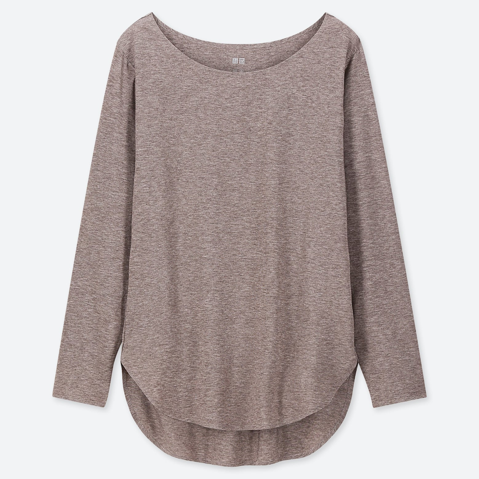 Airism Seamless Long Sleeve T Shirt by Uniqlo