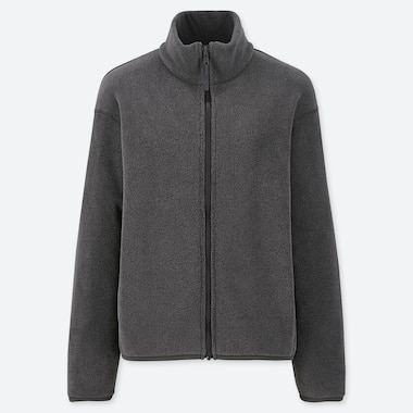 WOMEN FLEECE ZIPPED JACKET