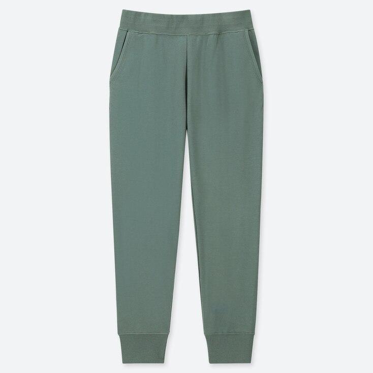 WOMEN ULTRA STRETCH PANTS, GREEN, large