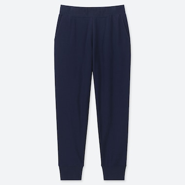 WOMEN ULTRA STRETCH PANTS, NAVY, medium