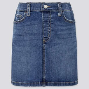 GIRLS ULTRA STRETCH DENIM SKIRT/us/en/girls-ultra-stretch-denim-skirt-418602.html