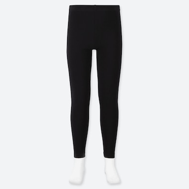 GIRLS LEGGINGS, BLACK, medium