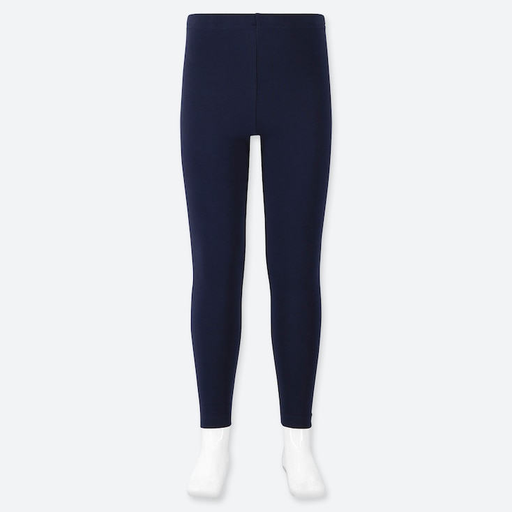 GIRLS LEGGINGS, NAVY, large