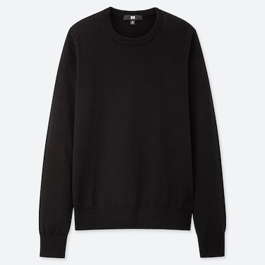 Women Extra Fine Merino Wool Crew Neck Jumper