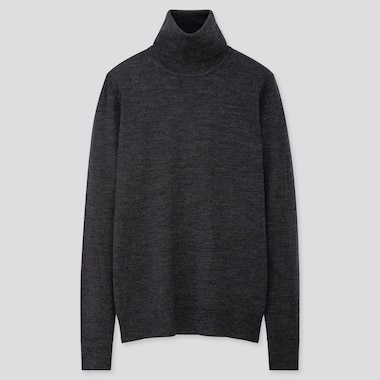 WOMEN EXTRA FINE MERINO TURTLENECK JUMPER