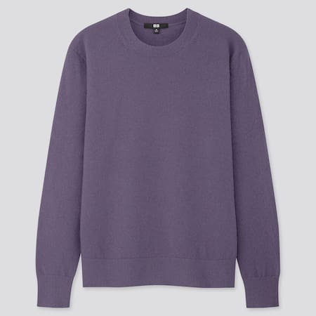 Women 100% Cashmere Relaxed Fit Crew Neck Jumper
