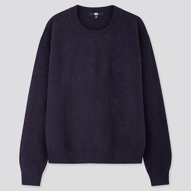 WOMEN PREMIUM LAMBSWOOL CREW NECK JUMPER