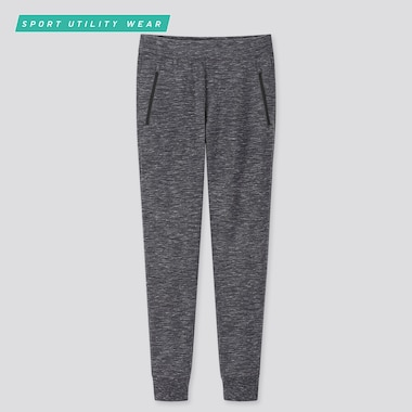 Men Dry Stretch Sweatpants, Dark Gray, Medium