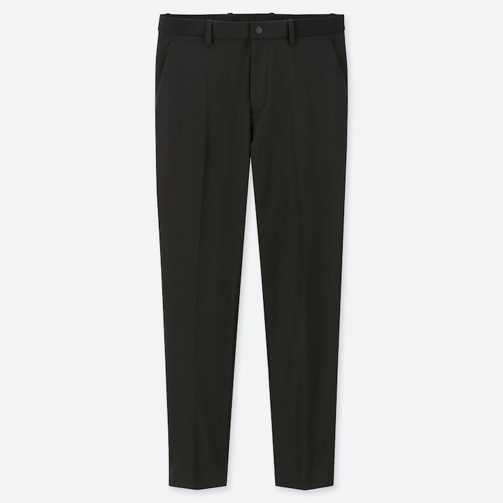 Men Ezy Dry-Ex Ankle-Length Pants, Black, Large