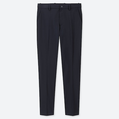 MEN EZY DRY-EX ANKLE-LENGTH PANTS, NAVY, medium