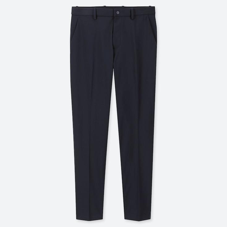 Men Ezy Dry-ex Ankle-length Pants, Navy, Large