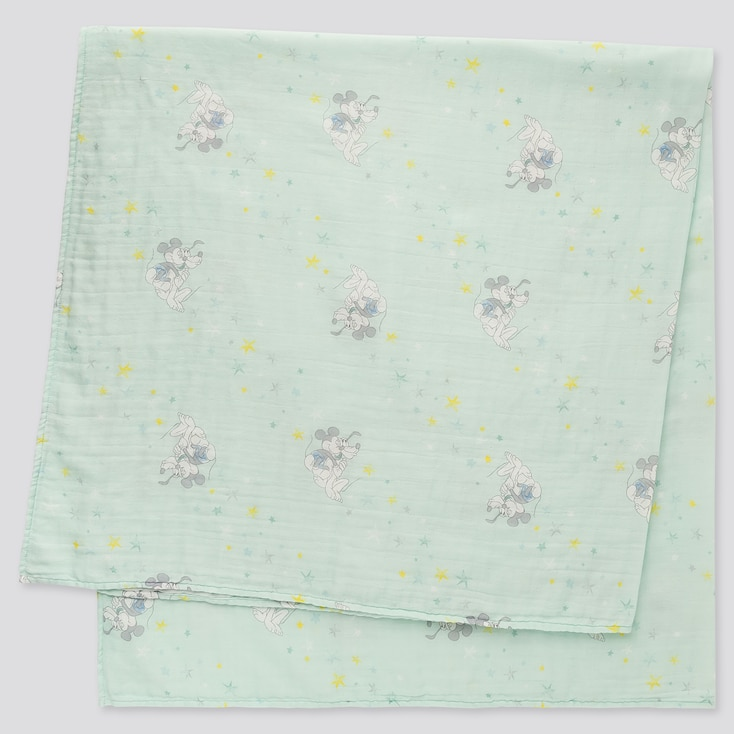 BABY DISNEY COLLECTION SWADDLE, LIGHT BLUE, large