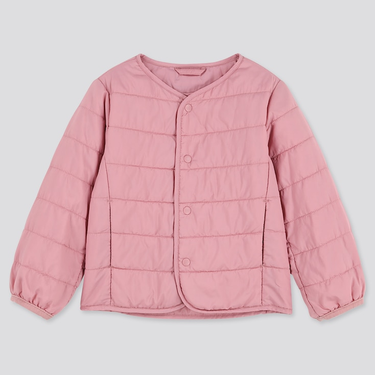 TODDLER COMPACT JACKET LIGHT WARM PADDED, PINK, large