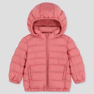 Toddler Light Warm Padded Full-Zip Parka, Pink, Medium