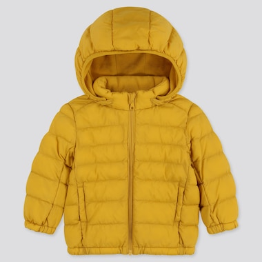 Toddler Light Warm Padded Full-Zip Parka, Yellow, Medium