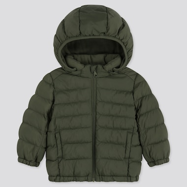 TODDLER LIGHT WARM PADDED FULL-ZIP PARKA, OLIVE, medium