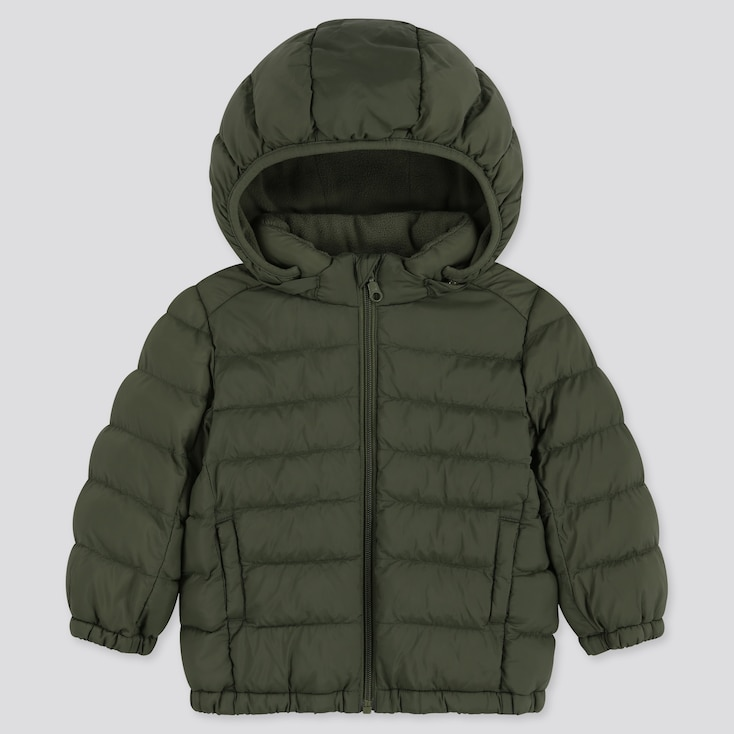 TODDLER LIGHT WARM PADDED FULL-ZIP PARKA, OLIVE, large