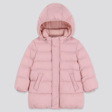 TODDLER WARM PADDED COAT, PINK, medium