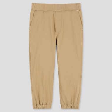 TODDLER WARM-LINED STRETCH PANTS, BEIGE, medium