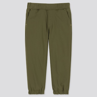 TODDLER WARM-LINED STRETCH PANTS, OLIVE, medium