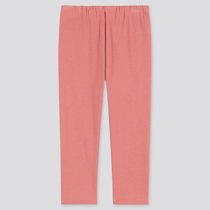 Toddler Fleece Leggings, Pink, Large