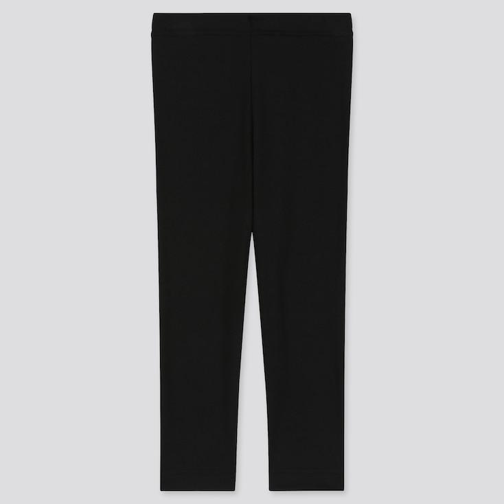 Baby Heattech Full-Length Leggings, Black, Large