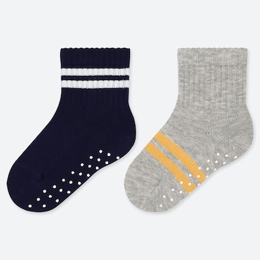 BABY SOCKS (2 PAIRS), NAVY, medium