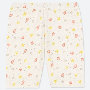 TODDLER DRY HALF LEGGINGS, OFF WHITE, medium