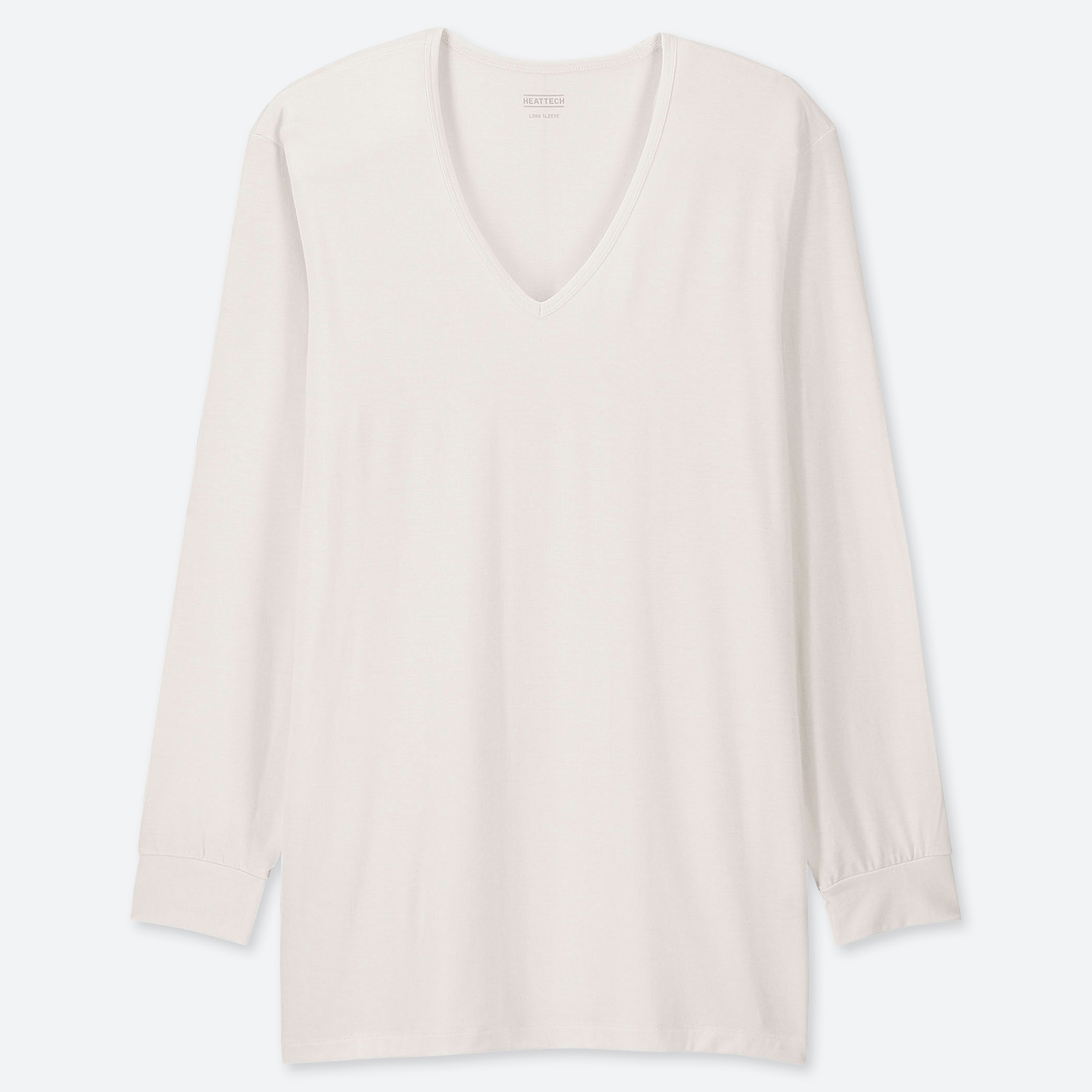 Uniqlo Uniqlo men heattech v-neck long-sleeve t-shirt