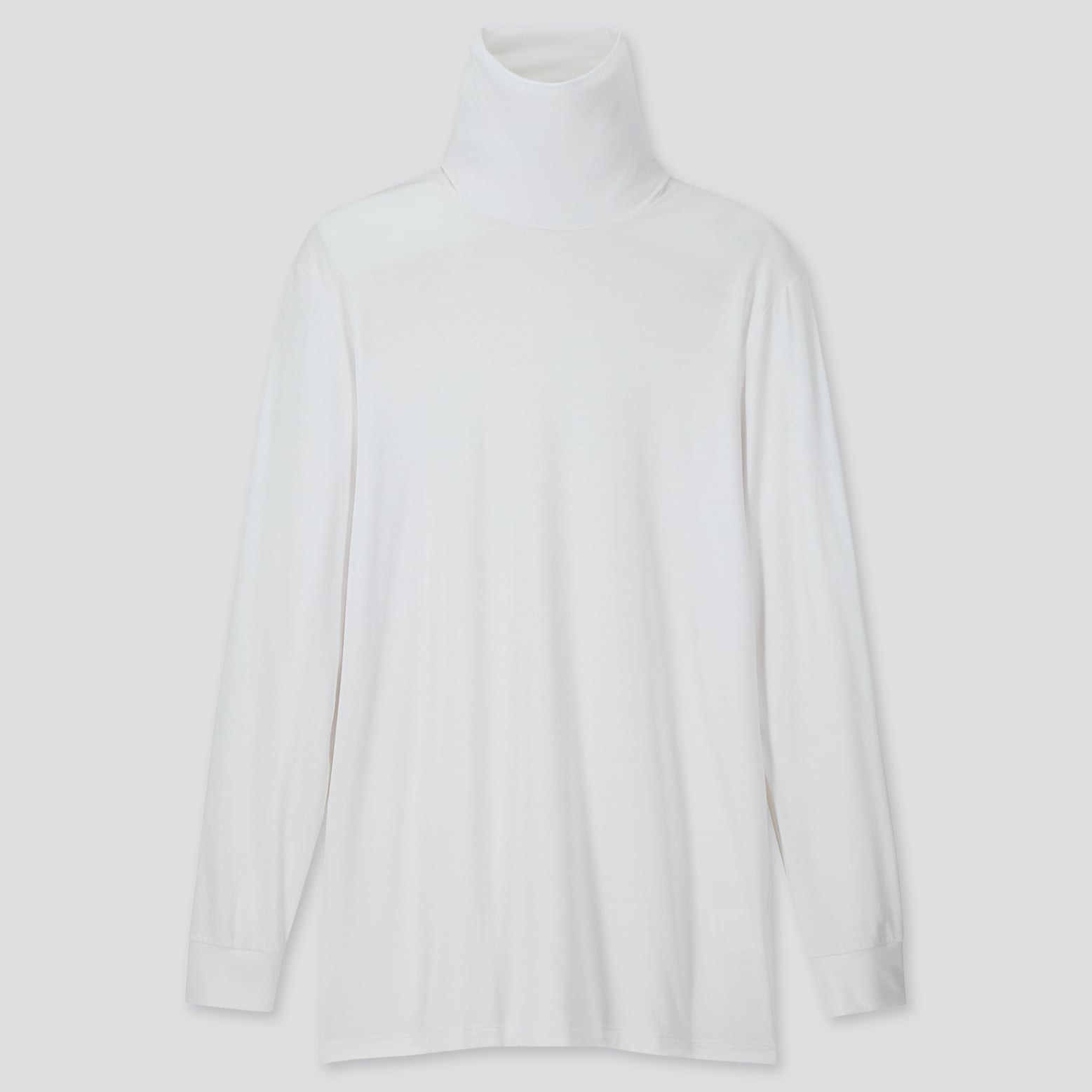 Heattech Turtleneck Long Sleeve T Shirt by Uniqlo