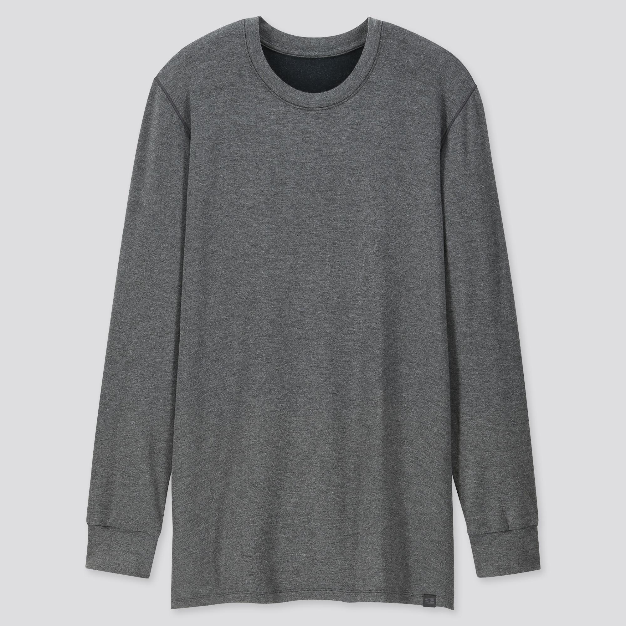 Uniqlo Uniqlo men heattech extra warm crew neck long-sleeve t-shirt