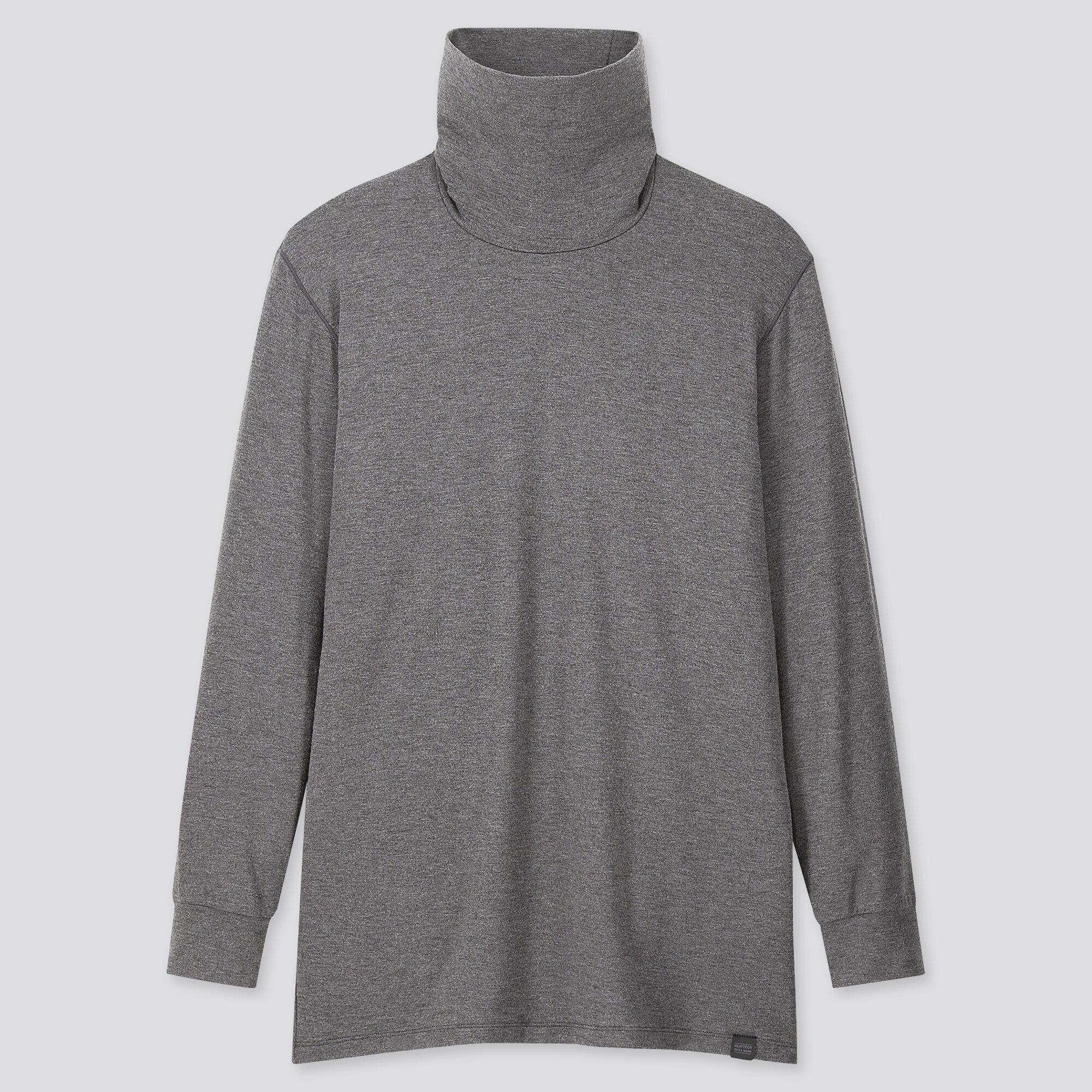 Uniqlo Uniqlo men heattech extra warm turtleneck long-sleeve t-shirt