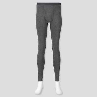 MEN HEATTECH EXTRA WARM LONG JOHNS, DARK GRAY, medium