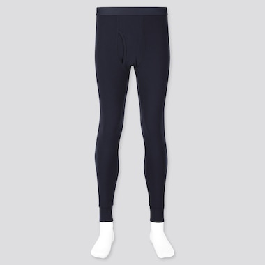 MEN HEATTECH ULTRA WARM LONG JOHNS, NAVY, medium