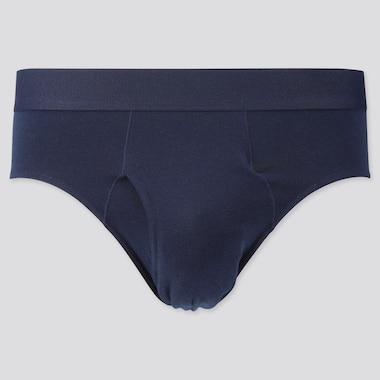 MEN SUPIMA® COTTON BRIEFS, NAVY, medium