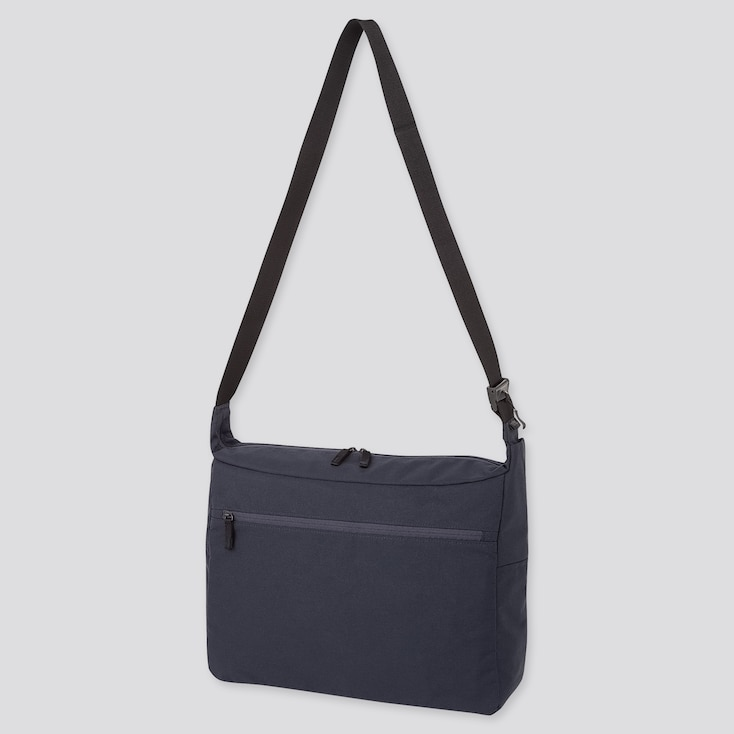 SHOULDER BAG, NAVY, large