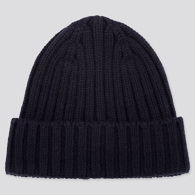 HEATTECH KNITTED CAP, NAVY, medium