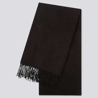 HEATTECH SCARF, BLACK, medium