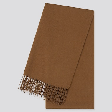 HEATTECH SCARF, BROWN, medium