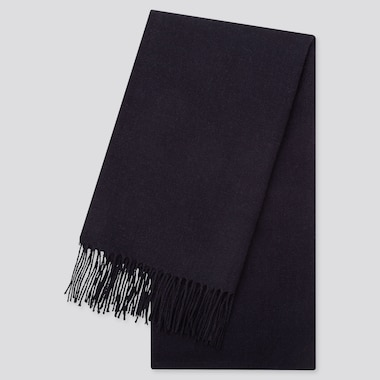 HEATTECH SCARF, NAVY, medium