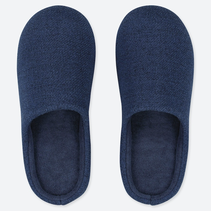 SLIPPERS, BLUE, large