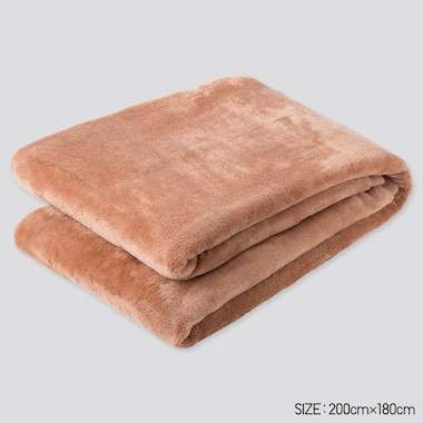 Heattech Blanket (Double) (Online Exclusive), Pink, Medium