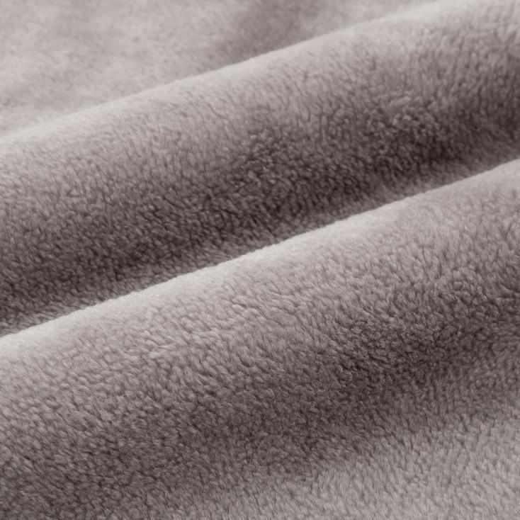 Heattech Blanket (Single) (Online Exclusive), Gray, Large