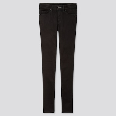 "WOMEN ULTRA STRETCH JEANS (TALL 34"") (ONLINE EXCLUSIVE), BLACK, medium"