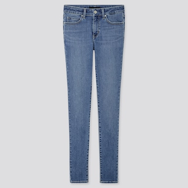 WOMEN ULTRA STRETCH JEANS, BLUE, medium
