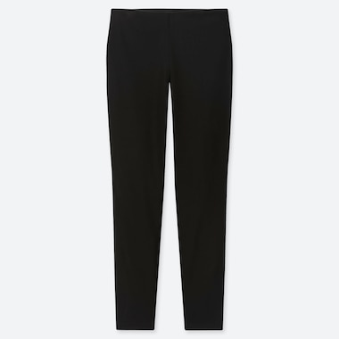 WOMEN SMART LEGGINGS PANTS, BLACK, medium