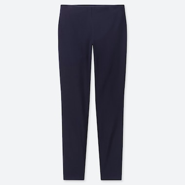 WOMEN SMART LEGGINGS PANTS, NAVY, medium