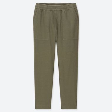 MEN WASHED JERSEY ANKLE LENGTH TROUSERS