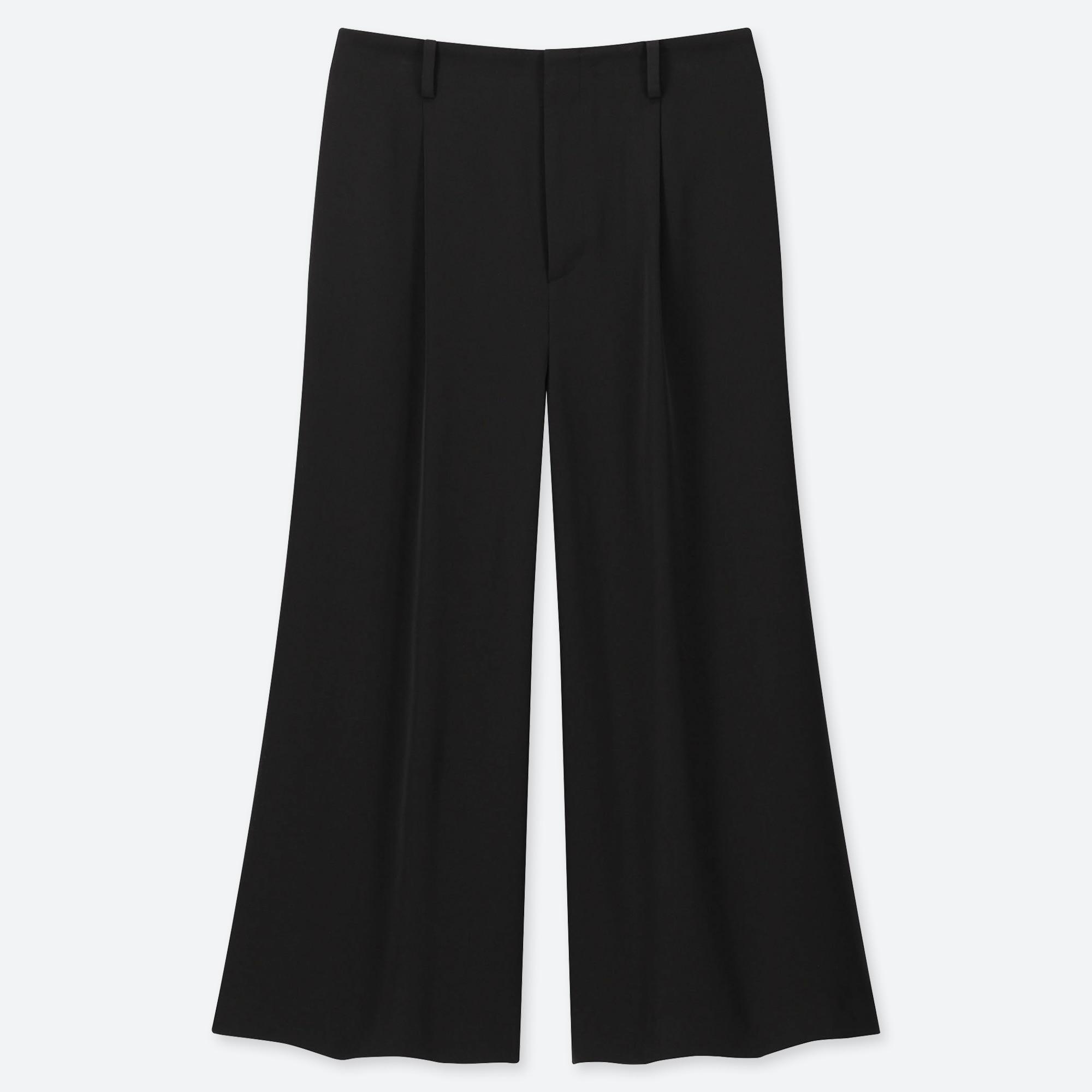 Large Large Pantalon Large Cropped Pantalon Cropped Femme Pantalon Femme bf76Ygy
